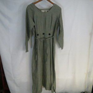 Picante Brand Dress Gray Size Medium Handwoven